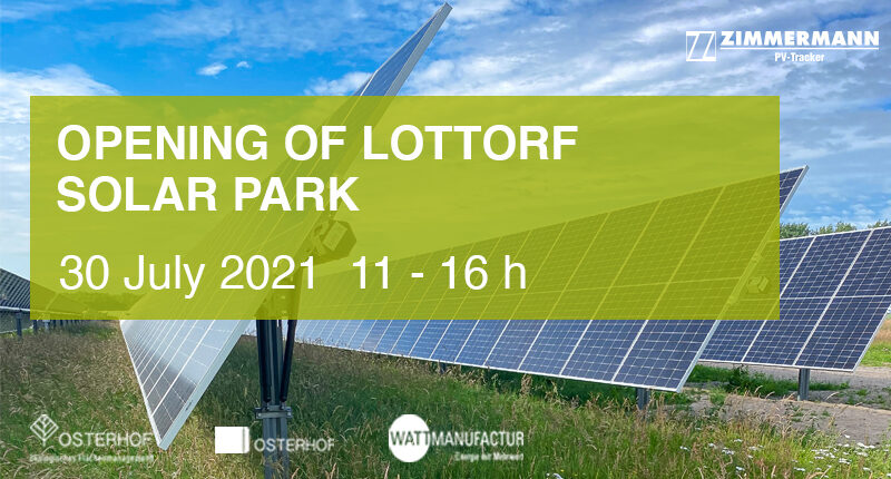 Opening of the Lottdorf solar park <br>30. July 2021